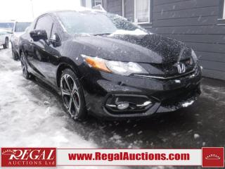 Used 2015 Honda CIVIC SI 2D COUPE 6SP for sale in Calgary, AB