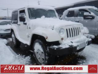 Used 2010 Jeep WRANGLER SAHARA 2D UTILITY 4WD for sale in Calgary, AB