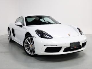 Used 2017 Porsche 718 Cayman WARRANTY   6 SPEED   SPORTS CHRONO   CAM for sale in Vaughan, ON