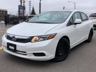 Used 2012 Honda Civic EX, great bargain in excellent shape for sale in Toronto, ON