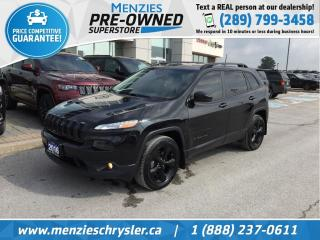 Used 2016 Jeep Cherokee Limited 4x4, Navi, Pano, One Owner, Clean Carfax for sale in Whitby, ON