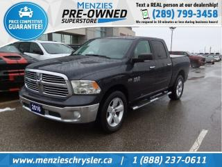 Used 2016 RAM 1500 SLT Plus Hemi 4x4, Navi, One Owner, Clean Carfax for sale in Whitby, ON