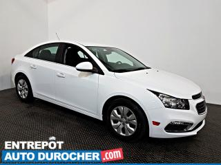 Used 2016 Chevrolet Cruze Limited LT Automatique - AIR CLIMATISÉ - Caméra de Recul for sale in Laval, QC