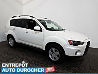 Used 2011 Mitsubishi Outlander ES AWD Automatique - A/C - Groupe Électrique for sale in Laval, QC