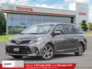 New 2019 Toyota SIENNA SE FWD 8-PASS SE for sale in Whitby, ON