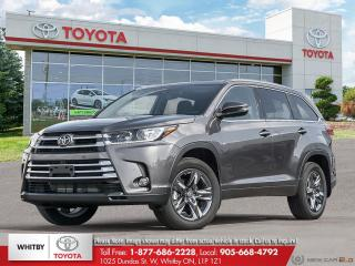 New 2019 Toyota Highlander Limited AWD Limited for sale in Whitby, ON
