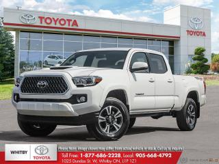 New 2018 Toyota TACOMA 4X4 DOUBLECAB V6 6A SR5 for sale in Whitby, ON