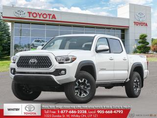 New 2019 Toyota TACOMA 4X4 DOUBLE CAB 6A SB LB25 for sale in Whitby, ON