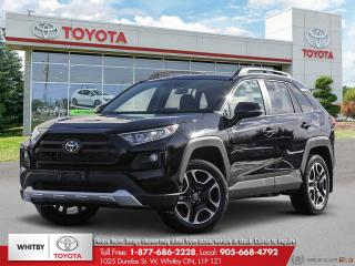 New 2019 Toyota RAV4 TRAIL AWD EB41 for sale in Whitby, ON