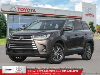 New 2019 Toyota Highlander XLE AWD XLE for sale in Whitby, ON