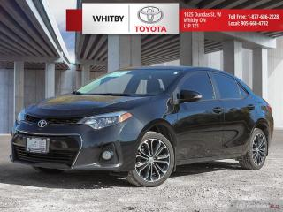 Used 2016 Toyota COROLLA SE UPGRADE for sale in Whitby, ON