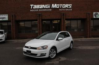 Used 2015 Volkswagen Golf COMFORTLINE I LEATHER I SUNROOF I REAR CAM I HEATED SEATS I for sale in Mississauga, ON