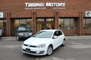 Used 2016 Volkswagen Golf NO ACCIDENTS I BIG SCREEN I REAR CAM I HEATED SEATS I BT for sale in Mississauga, ON