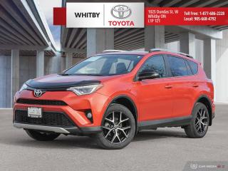 Used 2016 Toyota RAV4 SE AWD SE for sale in Whitby, ON