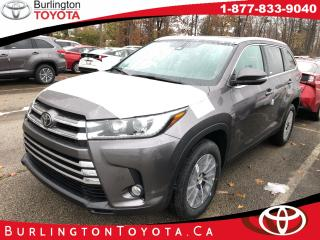New 2019 Toyota Highlander AWD XLE for sale in Burlington, ON