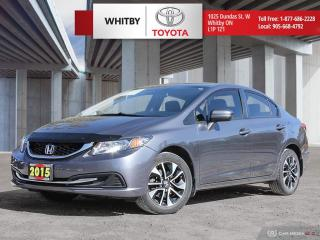 Used 2015 Honda Civic LX EX for sale in Whitby, ON