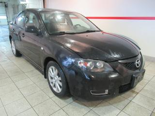 Used 2009 Mazda MAZDA3 4dr Sdn Man GS | GAS SAVER | AUX INPUT | SUNROOF for sale in Brampton, ON