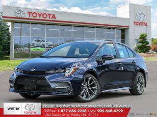 New 2020 Toyota COROLLA XSE CVT EB21 for sale in Whitby, ON