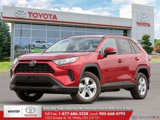 New 2020 Toyota RAV4 Hybrid LE AWD Hybrid LE for sale in Whitby, ON