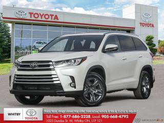 New 2019 Toyota HIGHLANDER LTD AWD LA20 for sale in Whitby, ON