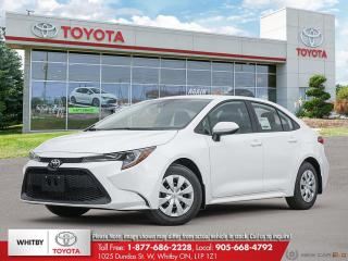 New 2020 Toyota Corolla L CVT LE for sale in Whitby, ON