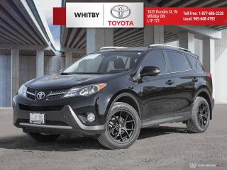 Used 2015 Toyota RAV4 LTD AWD Limited for sale in Whitby, ON