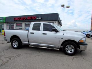 Used 2010 Dodge Ram 1500 ST Quad Cab 4WD V8 5.7L Hemi Certified for sale in Milton, ON