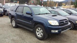 Used 2004 Toyota 4Runner Sport Edition 4WD for sale in West Kelowna, BC