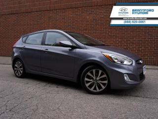 Used 2016 Hyundai Accent SE  - Local - Trade-in - One owner - $101 B/W for sale in Brantford, ON