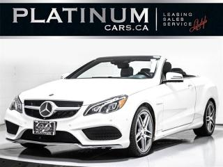 Used 2014 Mercedes-Benz E-Class E550, DISTRONIC, NAV, AMG, DRIVER ASST for sale in Toronto, ON