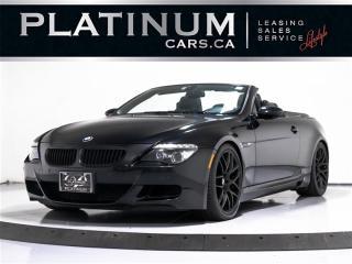 Used 2008 BMW M6 V10 505 HORSEPOWER, SMG, NAV, HEADS UP for sale in Toronto, ON