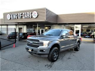 Used 2018 Ford F-150 LARIAT FX4 for sale in Langley, BC