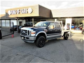 Used 2008 Ford F-350 SD LARIAT - FLATDECK DIESEL 4X4 for sale in Langley, BC