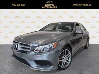 Used 2016 Mercedes-Benz E-Class E400 4MATIC Sedan Extra clean, no accidents for sale in Brampton, ON