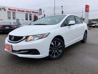 Used 2013 Honda Civic EX - Power Sunroof -  Rear Camera - Heated Seats for sale in Mississauga, ON