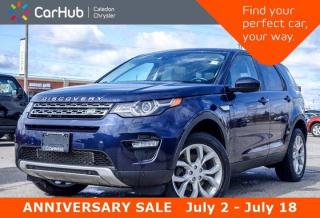 Used 2016 Land Rover Discovery Sport HSE|4x4|Navi|Pano Sunroof|Bluetooth|Backup Cam|Heated Front Rear Seats|19
