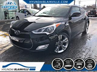 Used 2015 Hyundai Veloster TECH MAN NAVIGATION, MAGS, BLUETOOTH, TO for sale in Blainville, QC