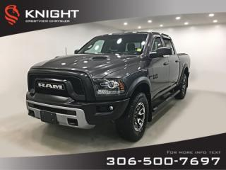 Used 2017 RAM 1500 Rebel Crew Cab | Heated Seats and Steering Wheel | Sunroof | Navigation for sale in Regina, SK