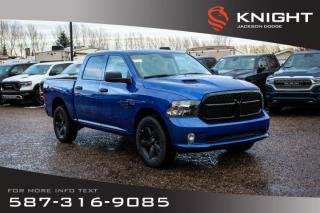 New 2019 RAM 1500 Classic Express Crew Cab | Heated Seats and Steering Wheel | Remote Start for sale in Medicine Hat, AB