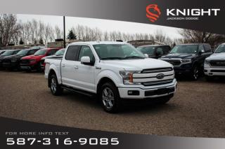 Used 2018 Ford F-150 LARIAT - NAV, Rear View Camera, Leather for sale in Medicine Hat, AB