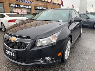 Used 2014 Chevrolet Cruze 4dr Sdn LTZ for sale in North York, ON