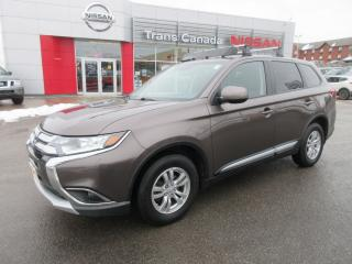 Used 2016 Mitsubishi Outlander ES for sale in Peterborough, ON