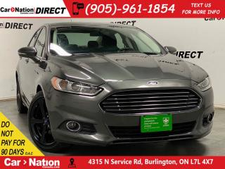 Used 2016 Ford Fusion SE| NAVI| BACK UP CAMERA & SENSORS| HEATED SEATS| for sale in Burlington, ON