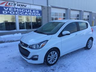 Used 2019 Chevrolet Spark LT AUTO A/C MAG BLUETOOTH H-BACK ET PLUS for sale in St-Hubert, QC
