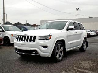 Used 2014 Jeep Grand Cherokee OVERLAND *DIESEL*TOIT PANO*GPS* for sale in Brossard, QC
