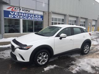 Used 2019 Mazda CX-3 GS AWD AUTO A/C MAG ET TRES BAS KM for sale in St-Hubert, QC