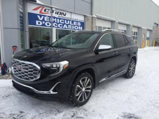 Used 2019 GMC Terrain DENALI AWD CUIR NAV MAG DEM. A DIST ET PLUS for sale in St-Hubert, QC