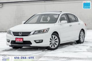Used 2014 Honda Accord EXL1Owner Clean Carfax Certified Finance New Tires for sale in Bolton, ON