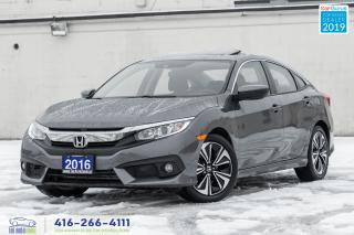 Used 2016 Honda Civic EX-T Certified Warranty Serviced Finance Detailed for sale in Bolton, ON
