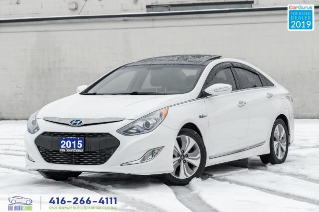 2015 Hyundai Sonata LTD w/TECHPkg CleanCarfax Finance Certified Hybrid